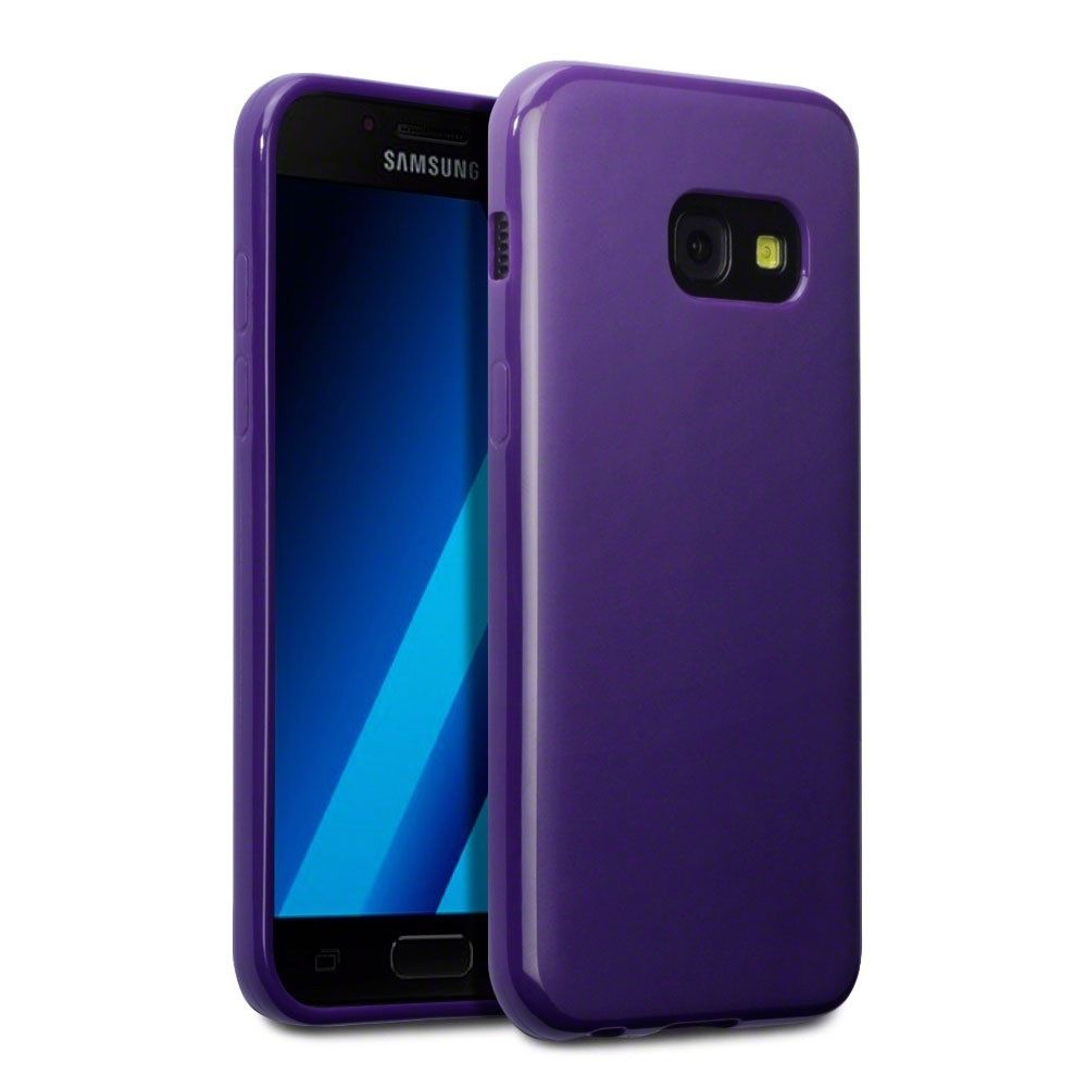 Terrapin Θήκη Σιλικόνης Samsung Galaxy A3 2017 - Purple Matte (118-002-584)