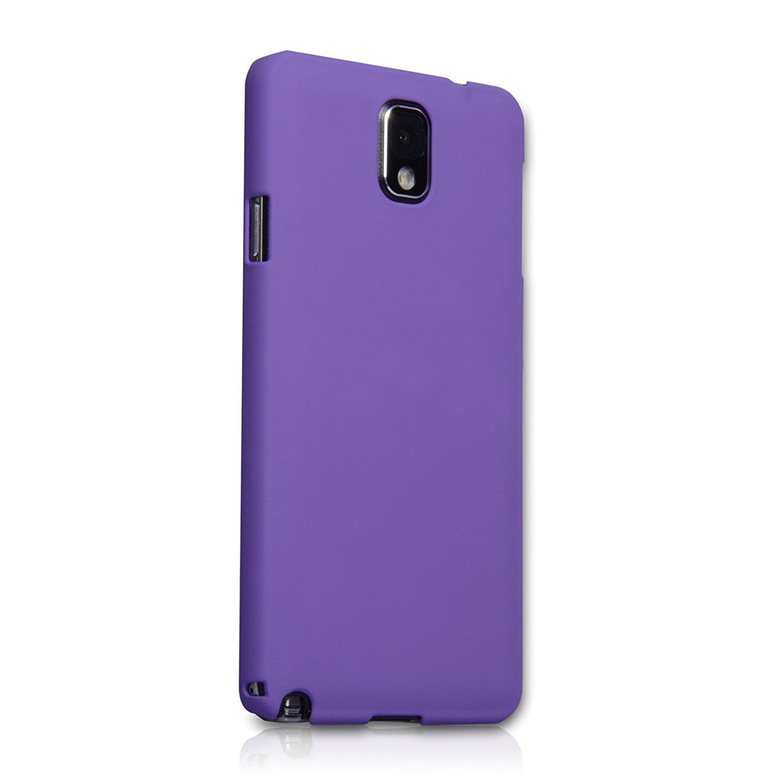 Yousave Σκληρή Θήκη Καουτσούκ Samsung Galaxy Note 3 - Purple (SA-EA02-Z707)