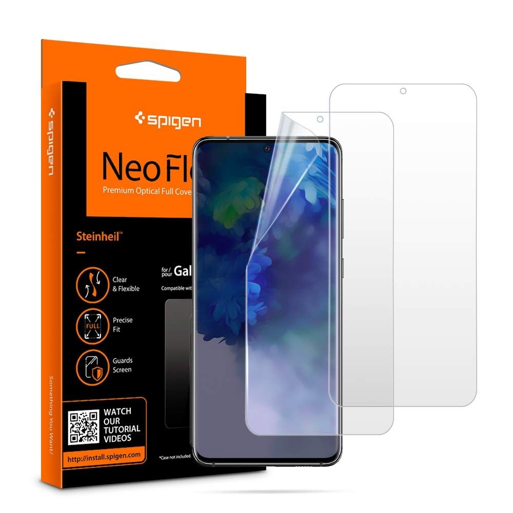 Spigen Screen Protector Neo Flex HD Samsung Galaxy S20 Plus (Case Friendly) - 2τμχ (AFL00644)