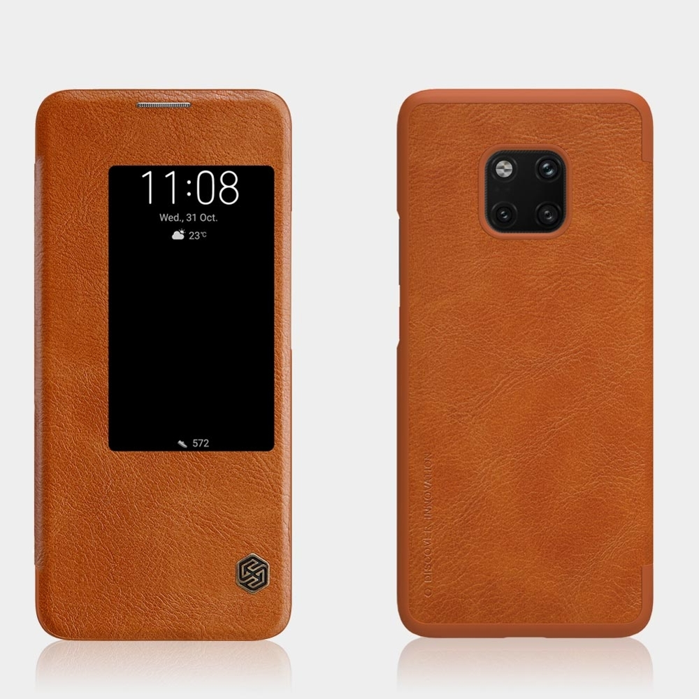 Nillkin Θήκη View-Flip Huawei Mate 20 Pro - Brown (44545)