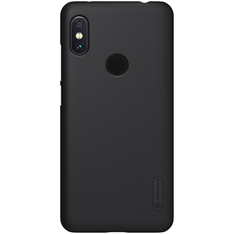 Nillkin Θήκη Super Frosted Shield Xiaomi Redmi Note 6 Pro & Kickstand - Black (44544)