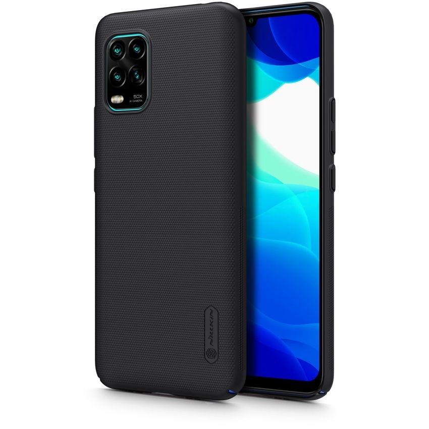 Nillkin Θήκη Super Frosted Shield Xiaomi Mi 10 Lite & Kickstand - Black (66365)