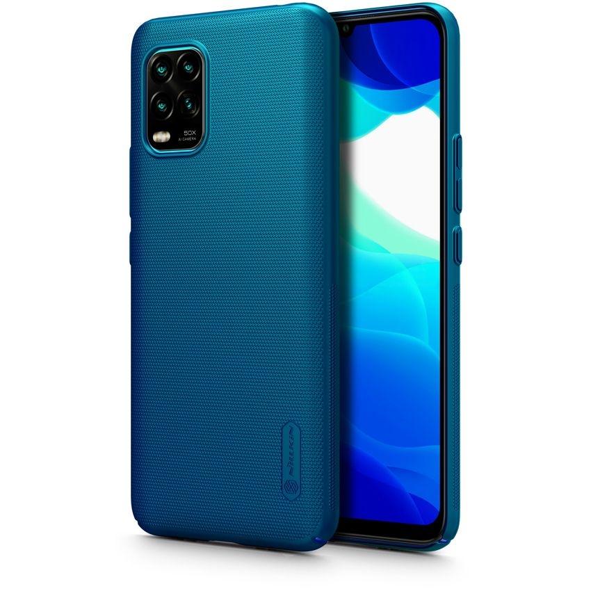 Nillkin Θήκη Super Frosted Shield Xiaomi Mi 10 Lite & Kickstand - Blue (66367)