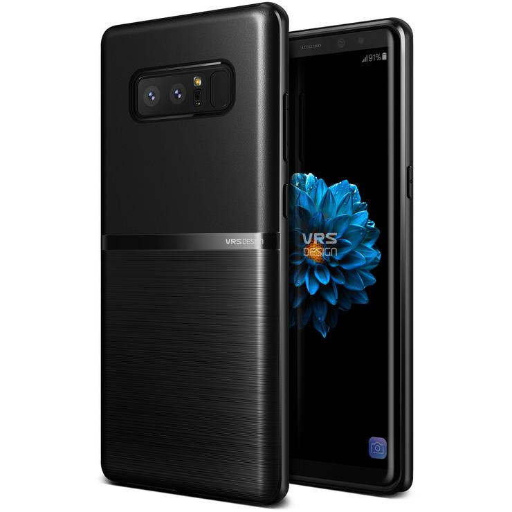 VRS Design Θήκη Single Fit Samsung Galaxy Note 8 - Black (VRSGN8-SFTBK )