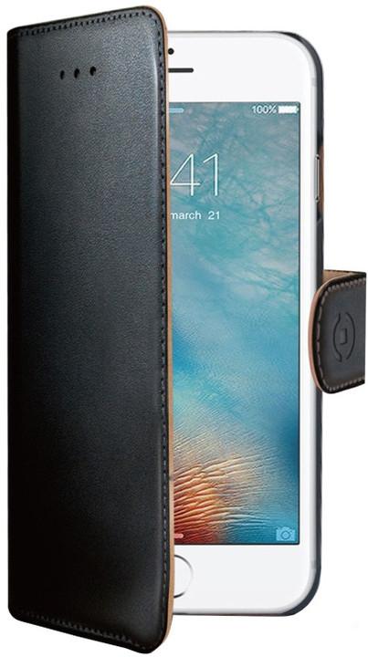 Celly Wally Θήκη - Πορτοφόλι iPhone 8/7 - Black (WALLY800)