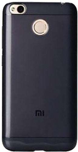 Official Xiaomi Θήκη Σιλικόνης Xiaomi Redmi 4X - Black (NYE5632GL)
