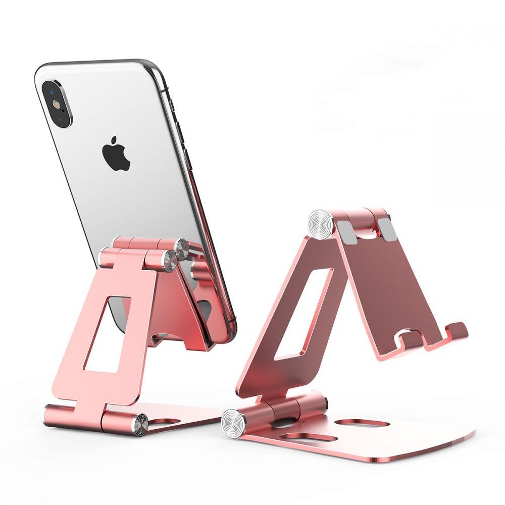 Tech-Protect Universal Stand Holder Z16 - Βάση Αλουμινίου για Smartphone - Rose Gold (66371)