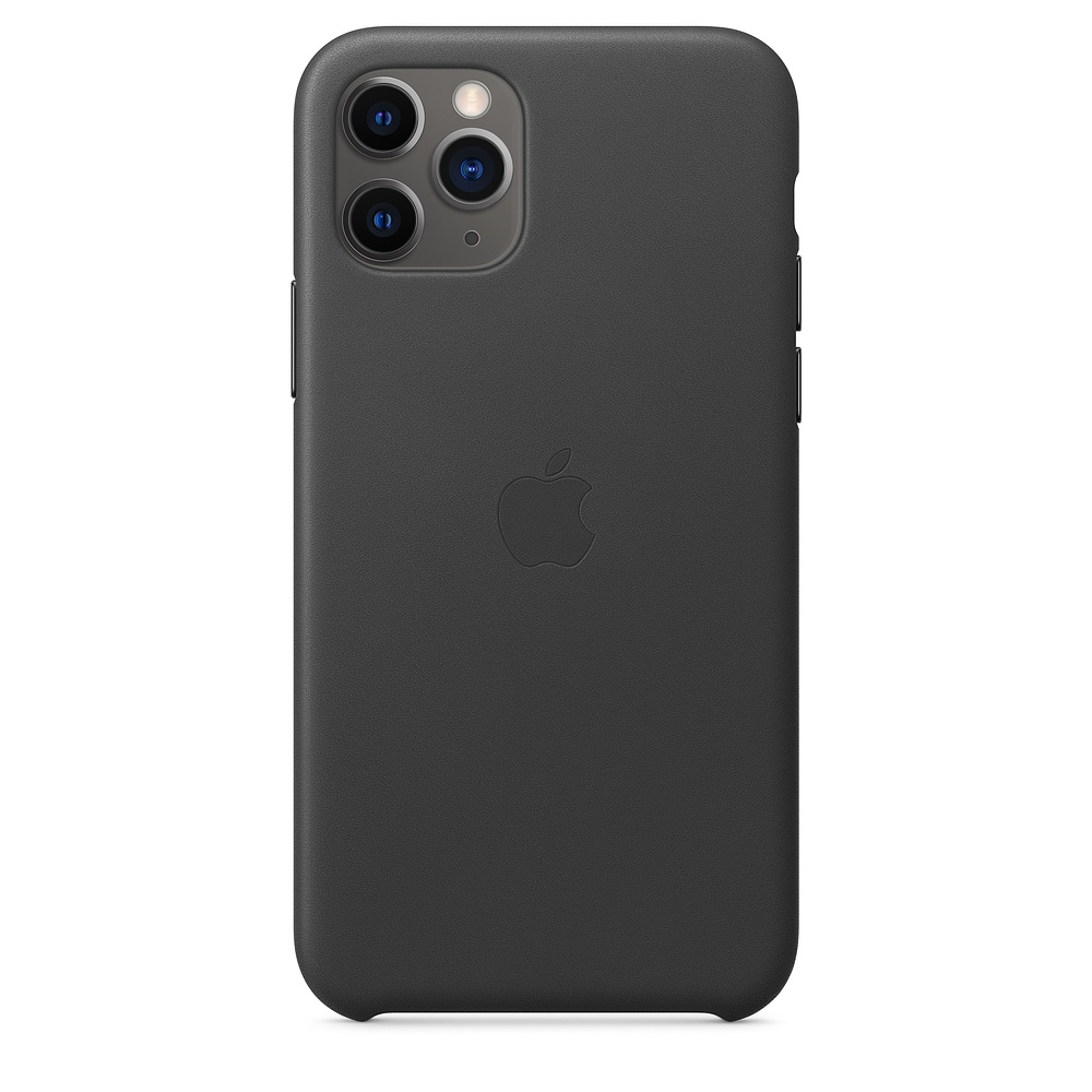 Official Apple Δερμάτινη Θήκη iPhone 11 Pro - Black (MWYE2ZM/A)