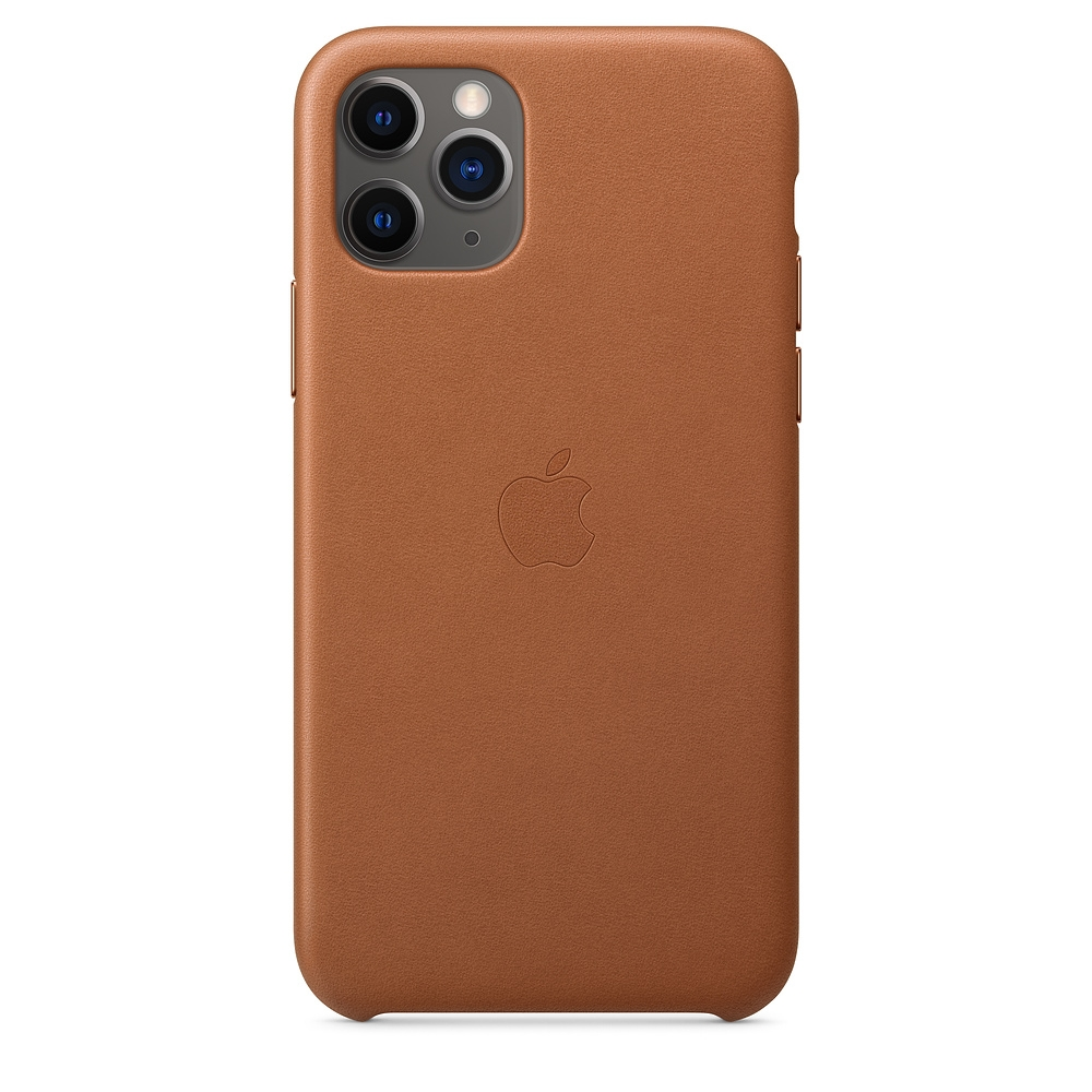 Official Apple Δερμάτινη Θήκη iPhone 11 Pro - Saddle Brown (MWYD2ZM/A)