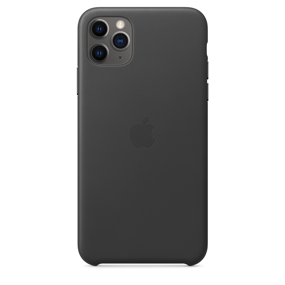 Official Apple Δερμάτινη Θήκη iPhone 11 Pro Max - Black (MX0E2ZM/A)