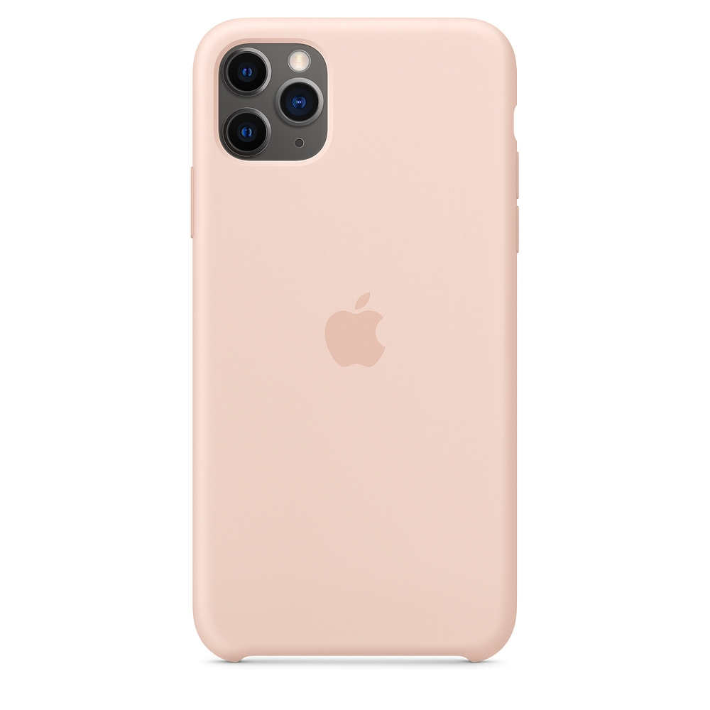 Official Apple Silicon Cover - Θήκη Σιλικόνης iPhone 11 Pro Max - Pink Sand (MWYY2ZM/A)