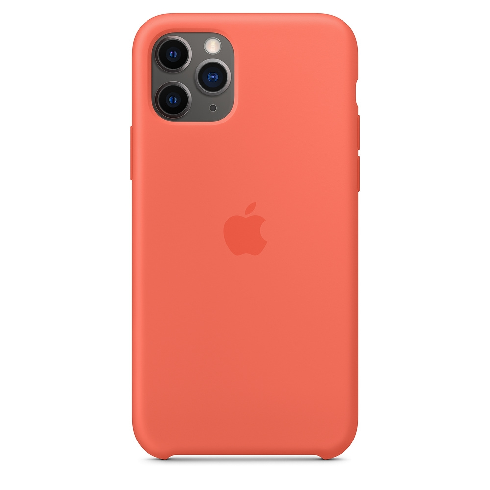 Official Apple Silicon Cover - Θήκη Σιλικόνης iPhone 11 Pro - Clementine (MWYQ2ZM/A)