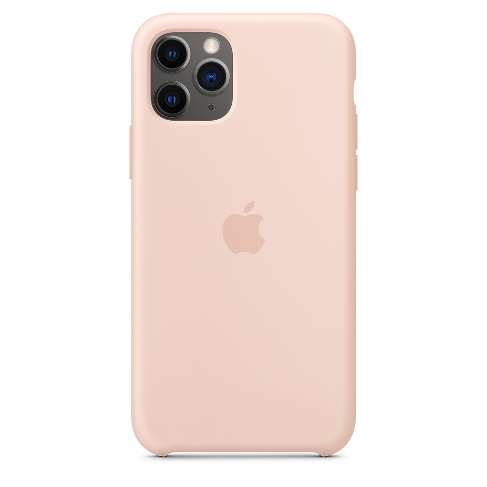 Official Apple Silicon Cover - Θήκη Σιλικόνης iPhone 11 Pro - Pink Sand (MWYM2ZM/A)