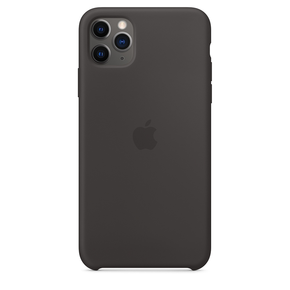 Official Apple Silicon Cover - Θήκη Σιλικόνης iPhone 11 Pro Max - Black (MX002ZM/A)