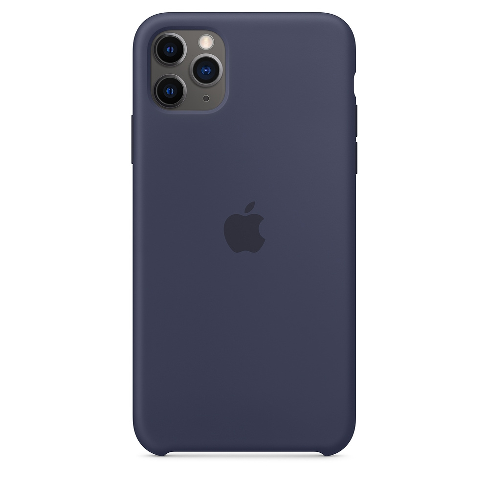Apple Official Silicon Cover - Θήκη Σιλικόνης iPhone 11 Pro Max - Midnight Blue (MWYW2ZM/A)