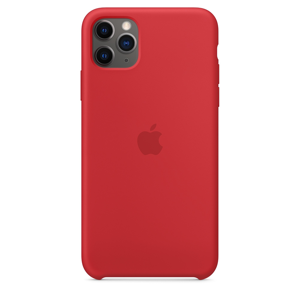 Official Apple Silicon Cover - Θήκη Σιλικόνης iPhone 11 Pro Max - Red (MWYV2ZM/A)