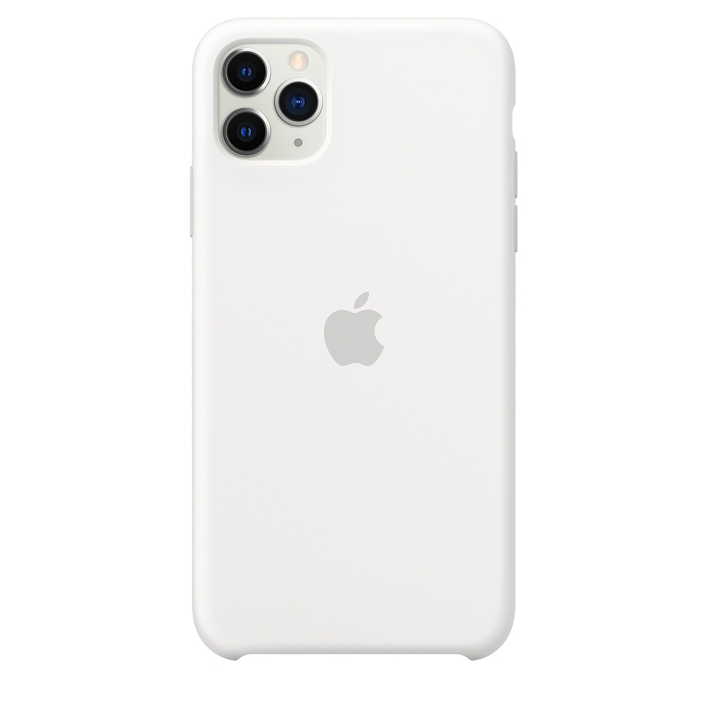Official Apple Silicon Cover - Θήκη Σιλικόνης iPhone 11 Pro Max - White (MWYX2ZM/A)