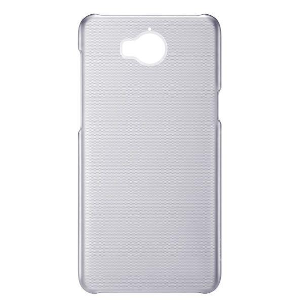 Huawei Official Σκληρή Θήκη Y6 2017 - Translucent Grey (51991927)