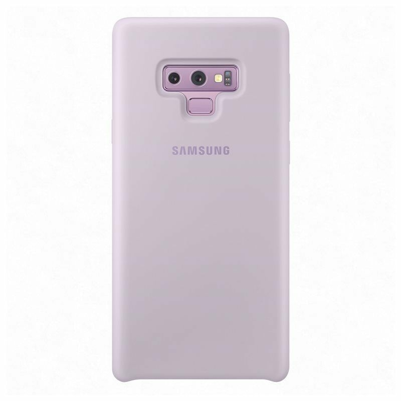 Samsung Official Silicon Cover - Silky and Soft -Touch Finish - Θήκη Σιλικόνης Samsung Galaxy Note 9 - Purple (EF-PN960TVEGWW)