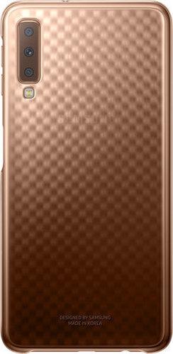 Official Gradation Cover - Σκληρή Θήκη Samsung Galaxy A7 2018 - Gold (EF-AA750CFEGWW)