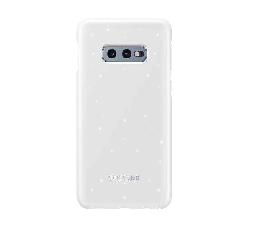 Samsung Official Led Cover Σκληρή Θήκη Samsung Galaxy S10e - White (EF-KG970CWEGWW)