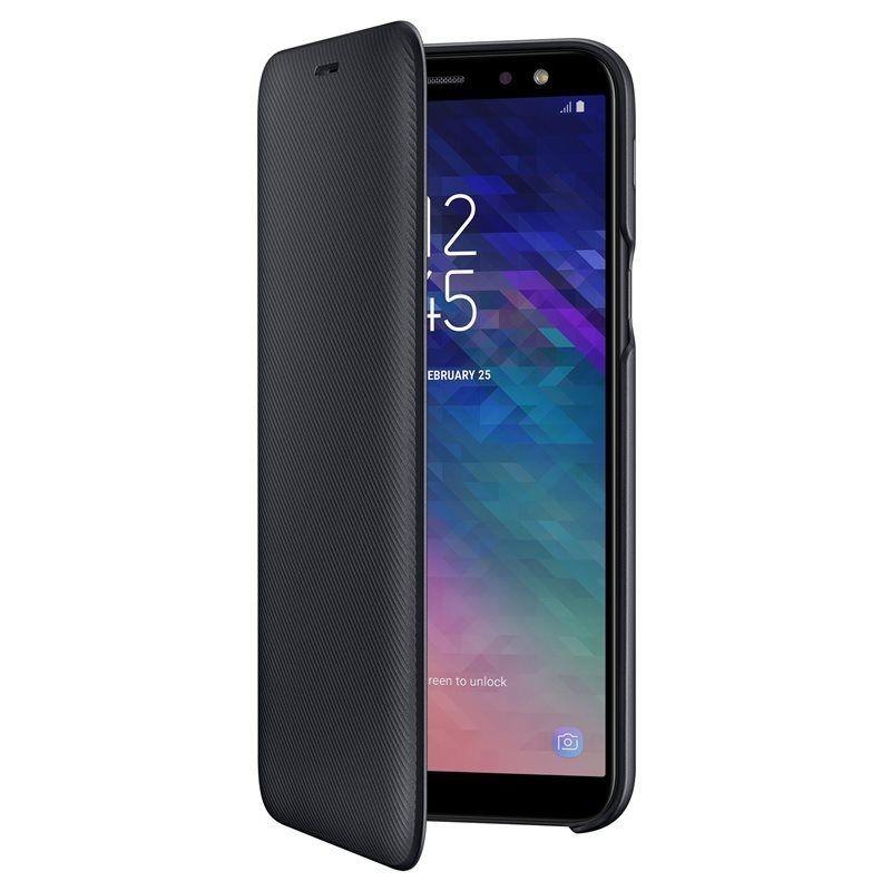 Samsung Official Wallet Case Samsung Galaxy A6 2018 - Black (EF-WA600CBEGWW)