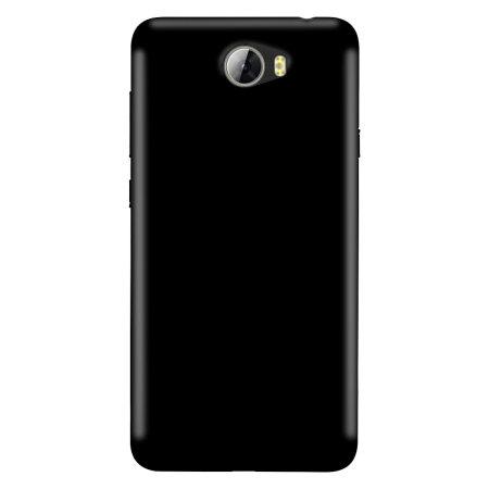 Olixar FlexiShield Θήκη Σιλικόνης Huawei Y5II (61043) - Solid Black