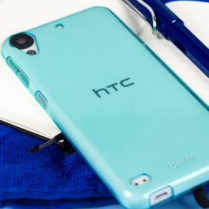 Olixar FlexiShield Ημιδιάφανη Θήκη Σιλικόνης HTC Desire 530 / 630 (59549) - Μπλέ