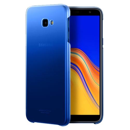 Official Gradation Cover - Σκληρή Θήκη Samsung Galaxy J4 Plus 2018 - Blue (EF-AJ415CLEGWW)