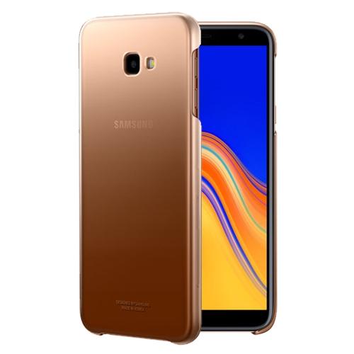 Official Gradation Cover - Σκληρή Θήκη Samsung Galaxy J4 Plus 2018 - Gold (EF-AJ415CFEGWW)