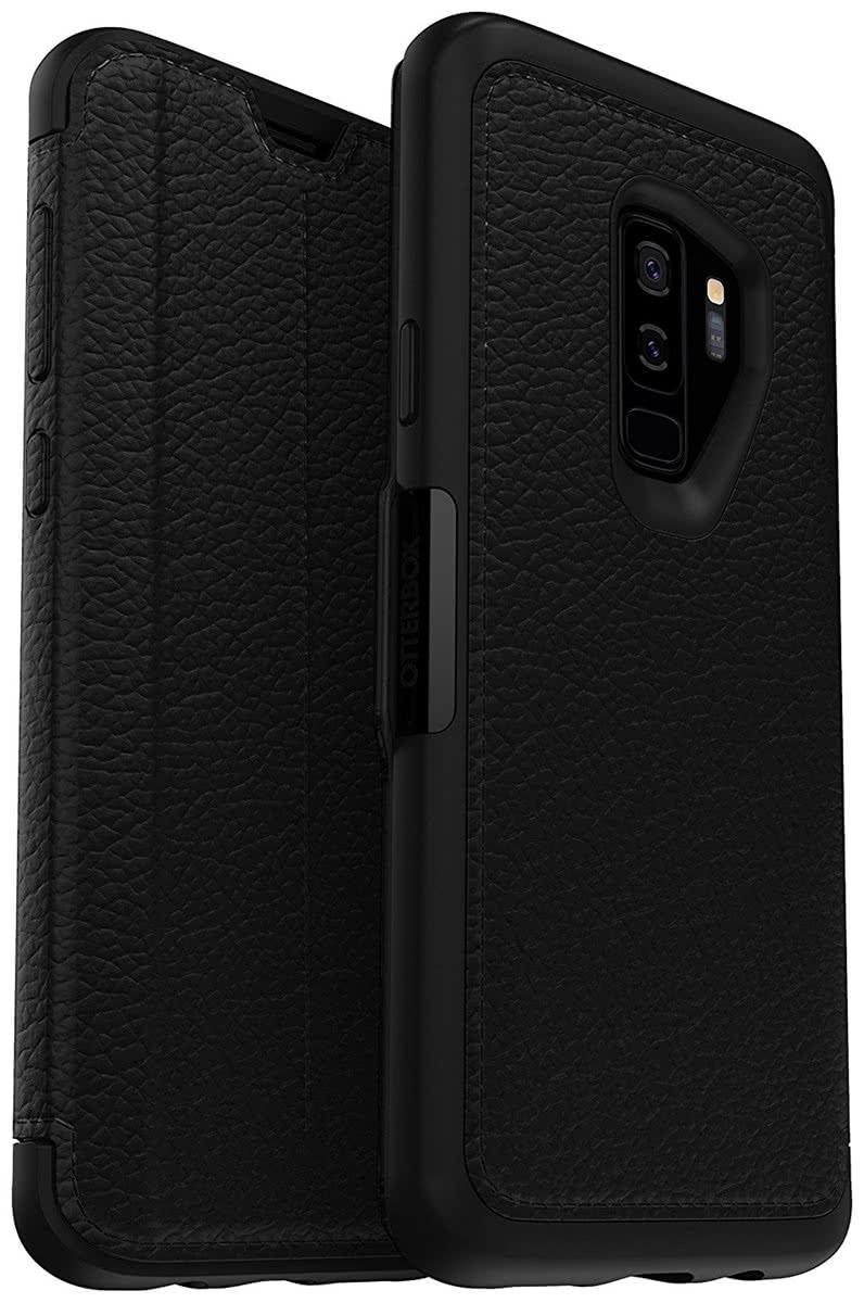 Otterbox Strada Series - Δερμάτινη Θήκη-Πορτοφόλι Samsung Galaxy S9 Plus - Βlack (77-58178)