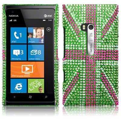 Θήκη Nokia Lumia 900 - Στρας by Terrapin (138-001-013)