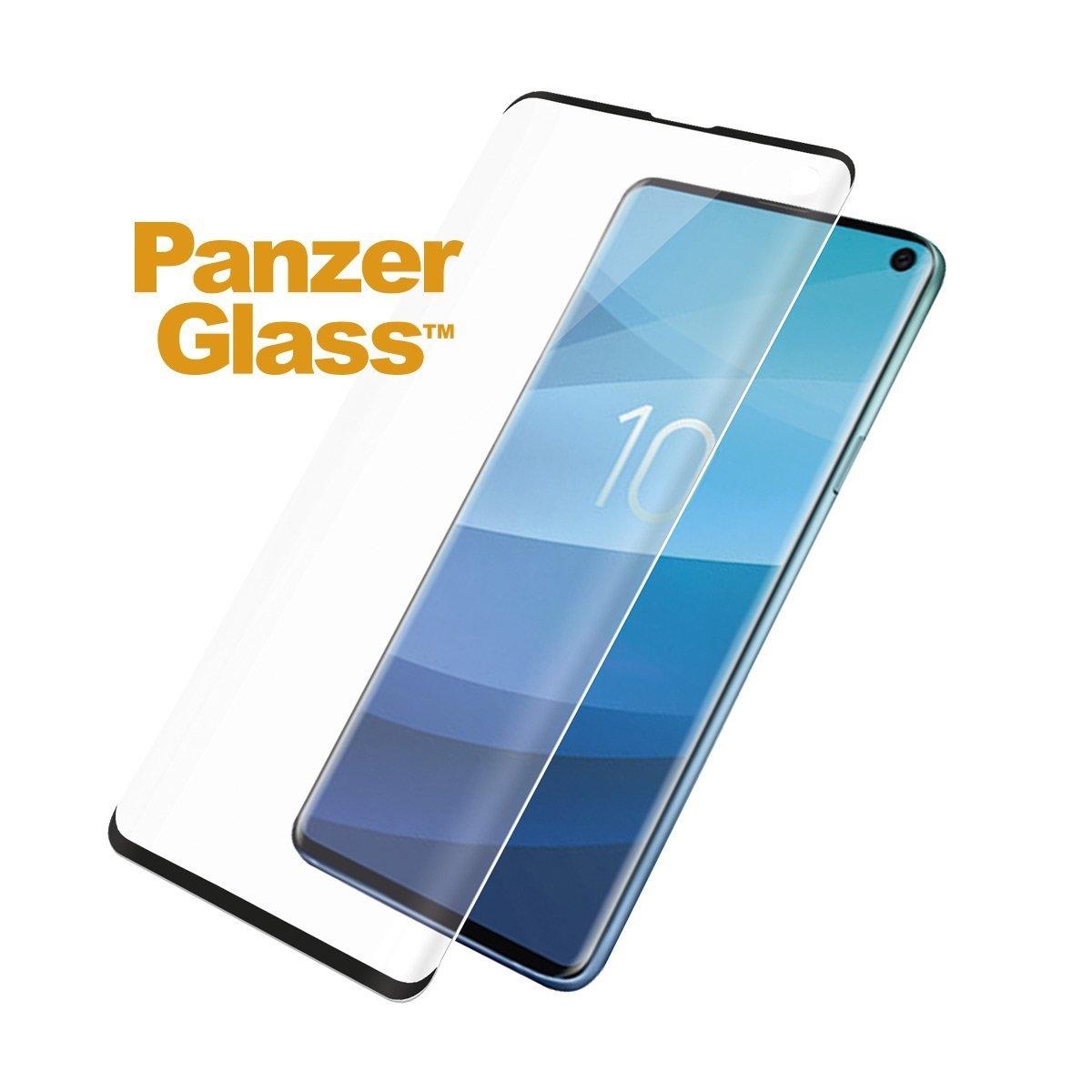 PanzerGlass Tempered Glass - Fullface Αντιχαρακτικό Γυαλί Οθόνης Samsung Galaxy S10 - Black (1123100005386)