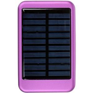 TechConnect Solar Charger - Power Bank Ηλιακός Φορτιστής 5000mAh - Purple (TCPBS5PR)