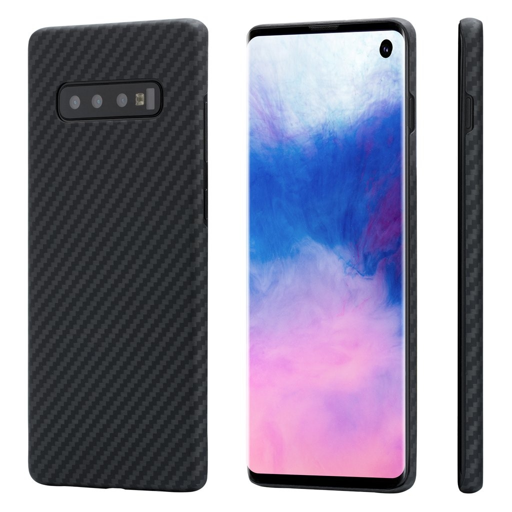 Pitaka MagCase - Θήκη Kevlar Body Samsung Galaxy S10 - 0.65mm - Black (KS1001)