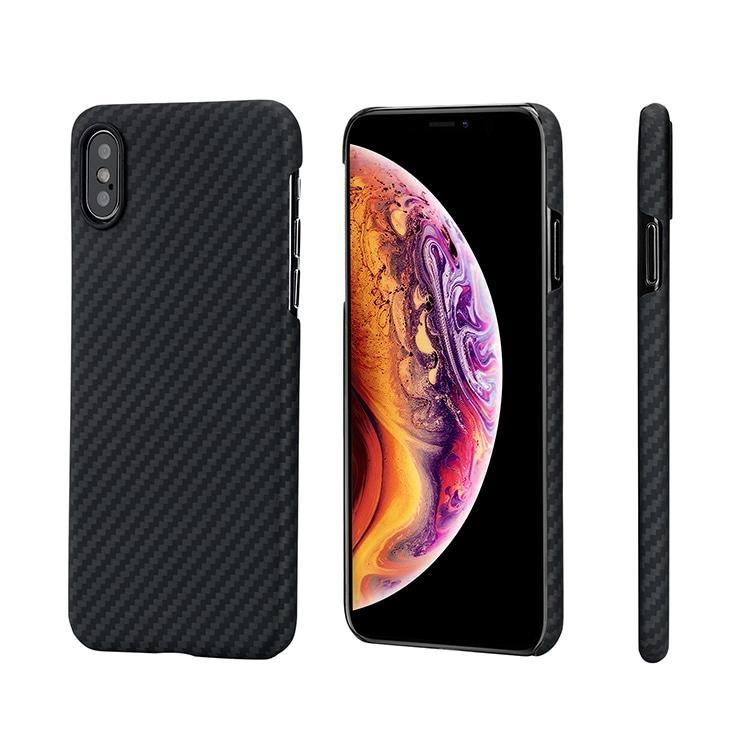 Pitaka MagCase - Θήκη Kevlar Body iPhone XS - 0.65mm - Black (KI8001XS)