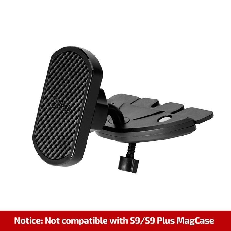 Pitaka MagMount Pro Car Vent - Μαγνητική Βάση Στήριξης Αυτοκινήτου για θέση CD - Black (CMD002DE)