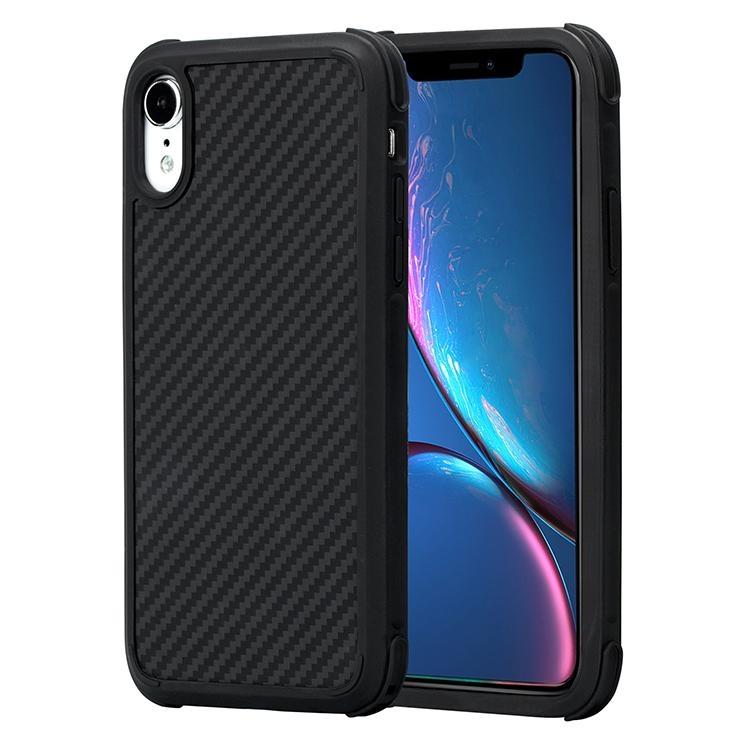 Pitaka MagCase Pro - Θήκη Kevlar Body iPhone XR - Black (KI9001XRP)