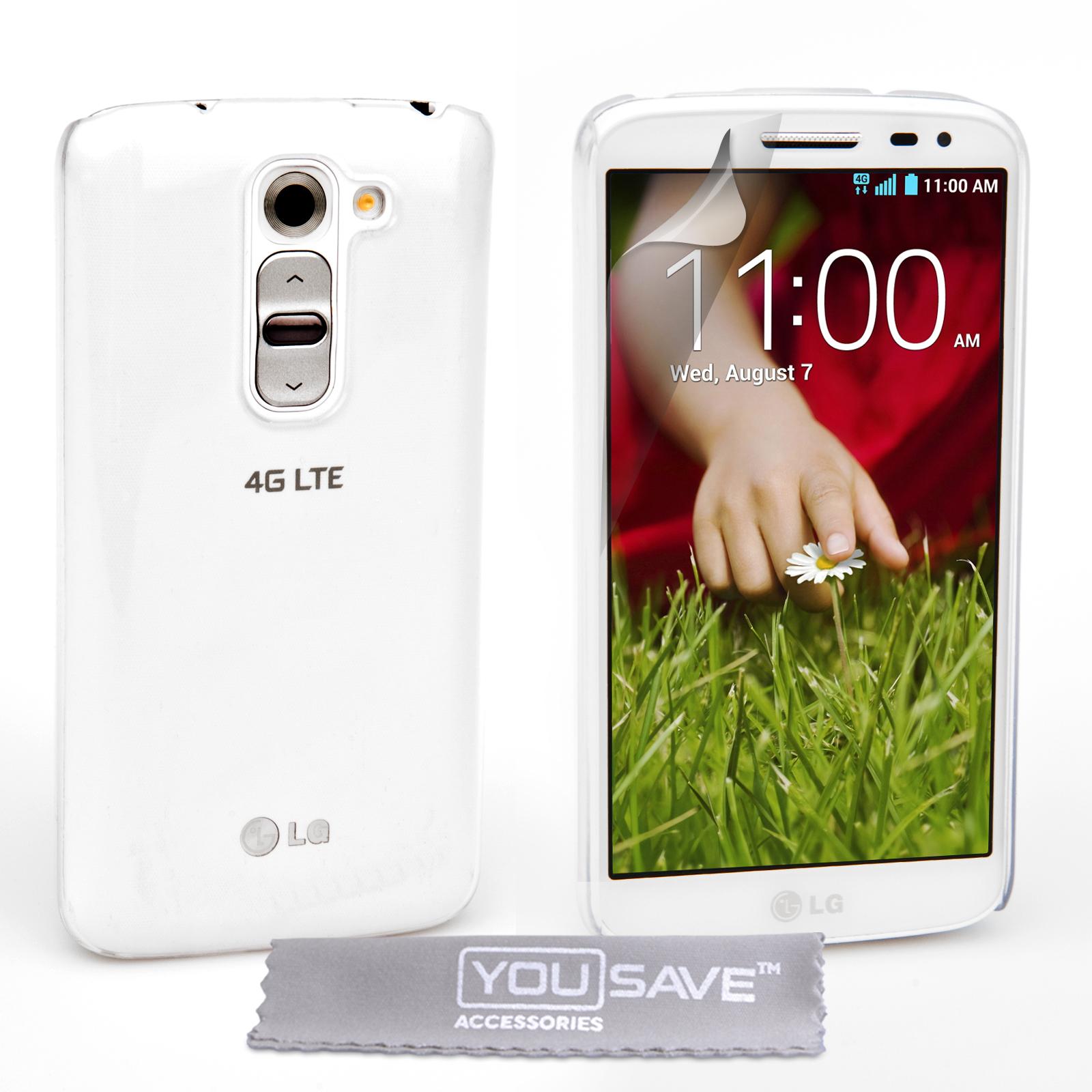 Διάφανη Θήκη LG G2 Mini by YouSave (Z700)