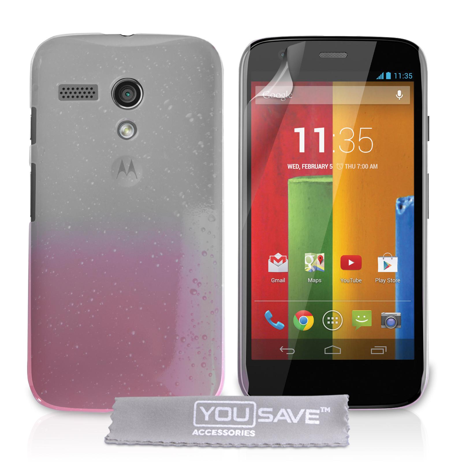 Θήκη Motorola Moto G by YouSave (Z212)