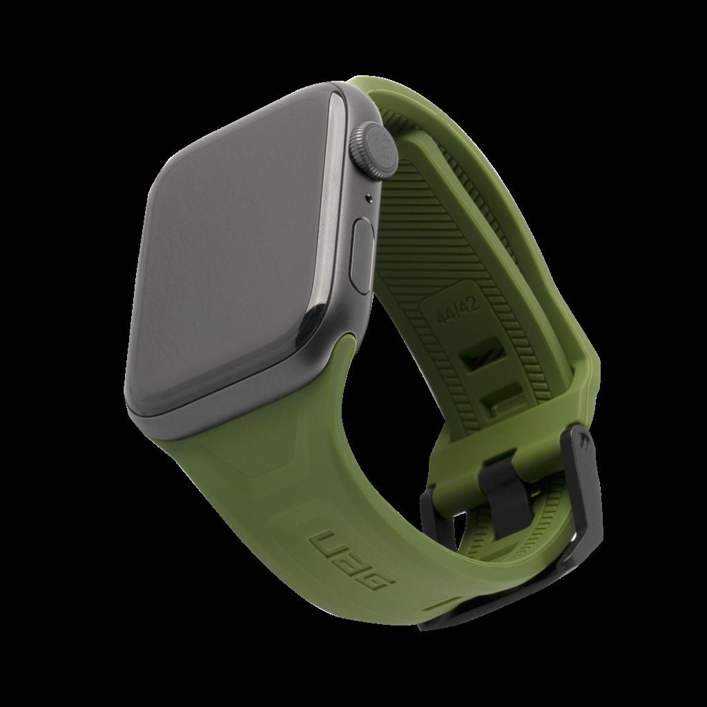 UAG Urban Armor Gear Scout Λουράκι Σιλικόνης Apple Watch 5/4/3/2/1 (44/42mm) - Green (191488117272)