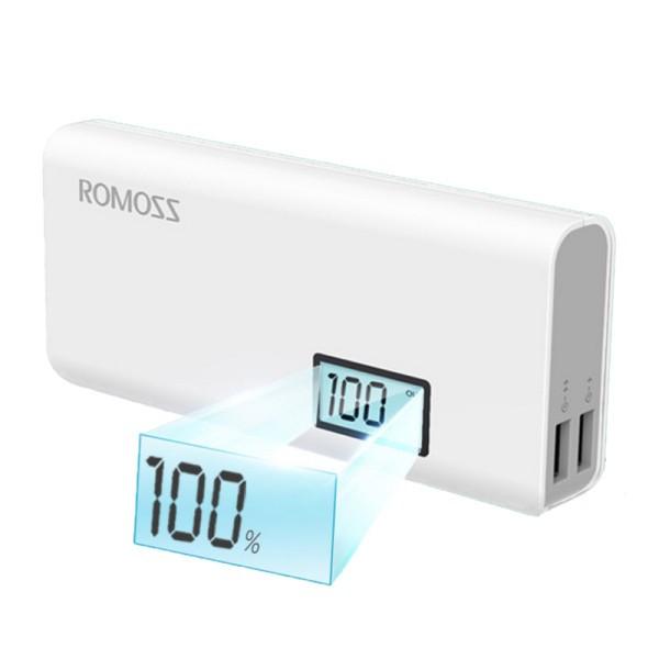 Φορητή Μπαταρία Φόρτισης (Power Bank) - 10000 mAh by Romoss - SOLO 5 Plus