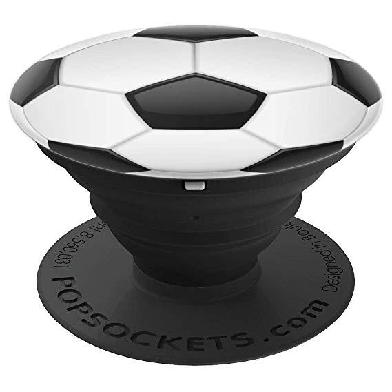 PopSocket Soccer Ball - Black (101046)