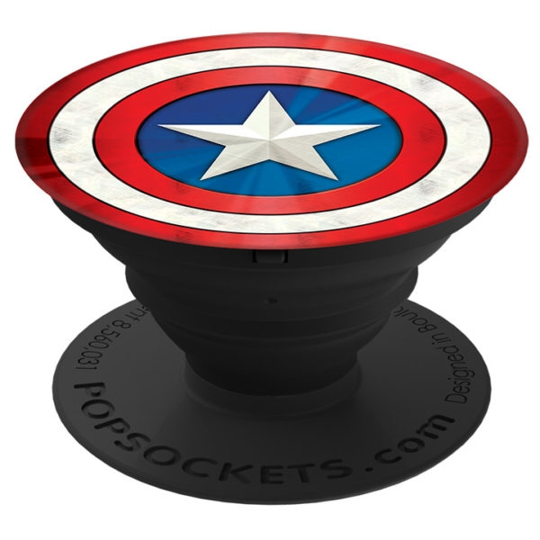 PopSocket Captain America Shield Icon - Multicolored Matte (101772)