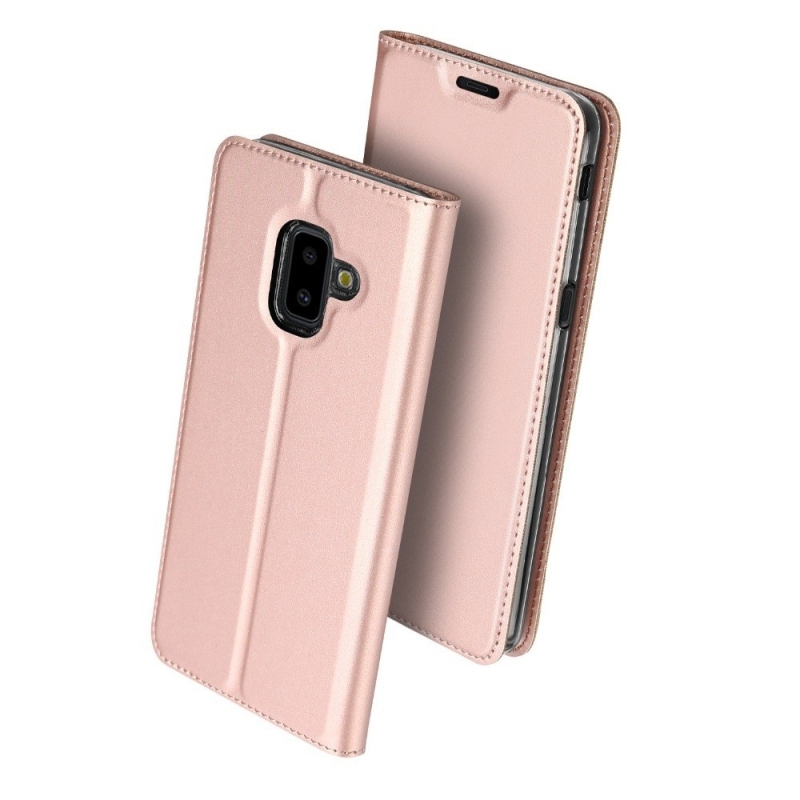 Duxducis Θήκη - Πορτοφόλι Samsung Galaxy J6 Plus 2018 - Rose Gold (14384)