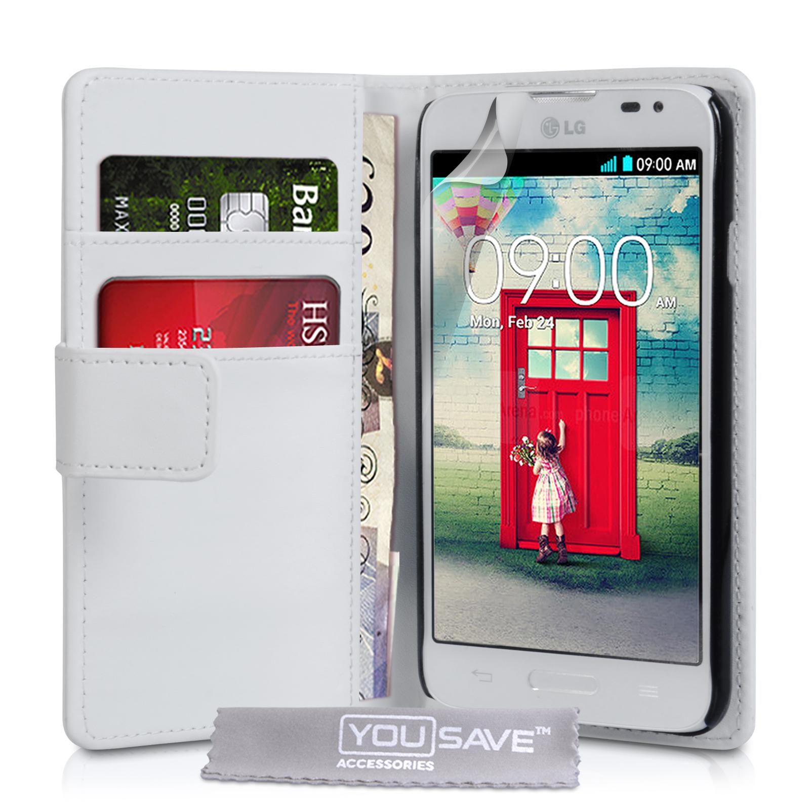 Θήκη LG L70 - Πορτοφόλι by YouSave (Z606)