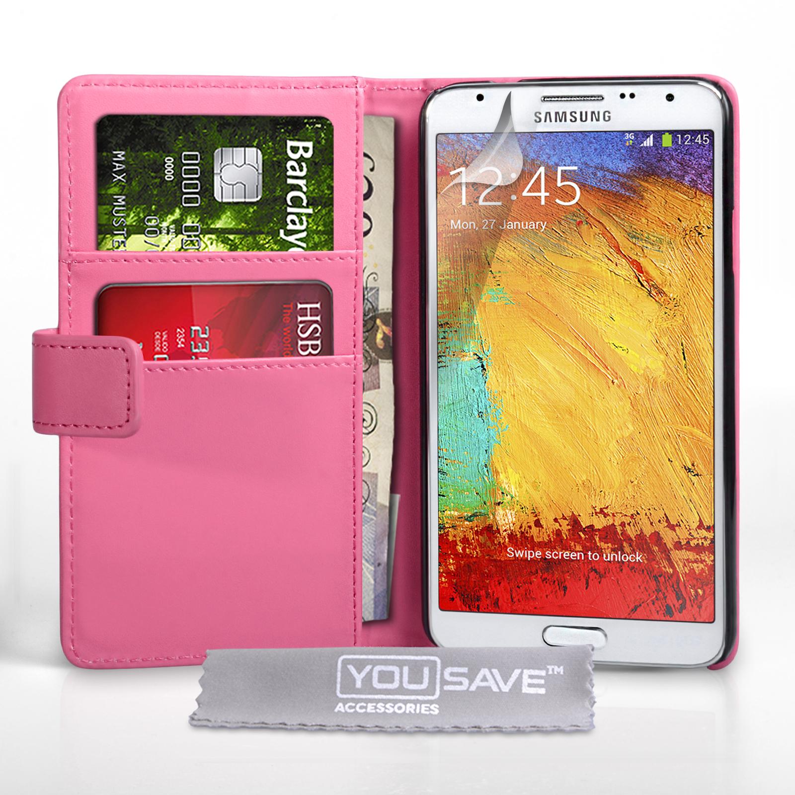 Θήκη Samsung Galaxy Note 3 Neo - Πορτοφόλι by YouSave (Z663)