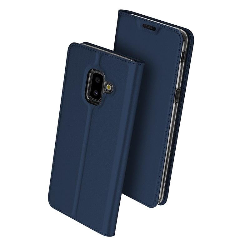 Duxducis Θήκη - Πορτοφόλι Samsung Galaxy J6 Plus 2018 - Blue (14372)