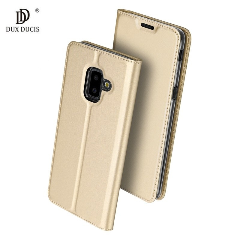 Duxducis Θήκη - Πορτοφόλι Samsung Galaxy J6 Plus 2018 - Gold (14373)
