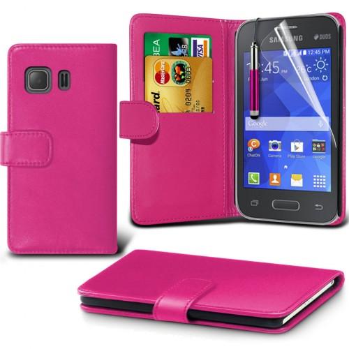 Θήκη Samsung Galaxy Young 2 - Πορτοφόλι (001-002-027) - OEM